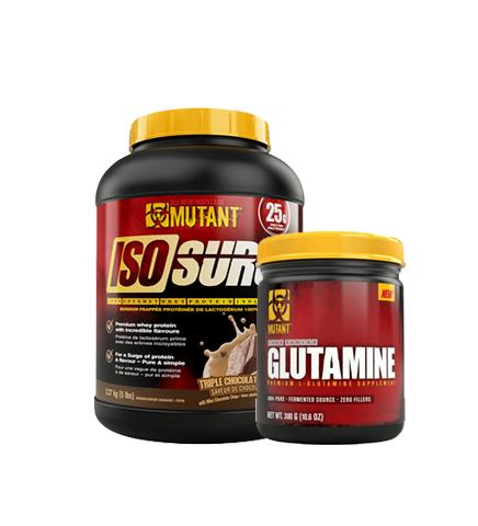 Buy Mutant Iso Surge Protein 5lb + Glutamine this sports supplement from Payless Supplements, today