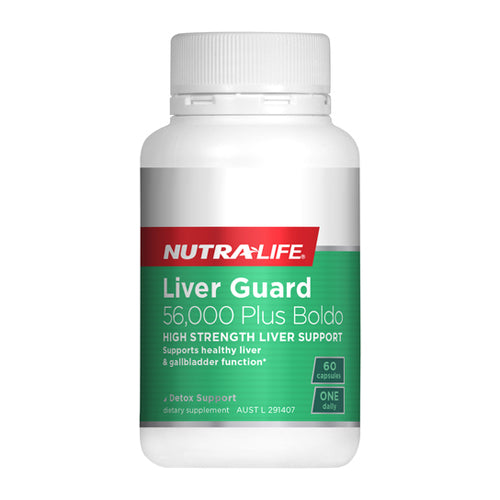 Nutra-Life Liver Guard 56000 Plus Boldo