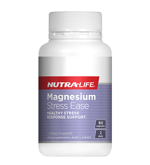NutraLife Magnesium Stress Ease Capsules