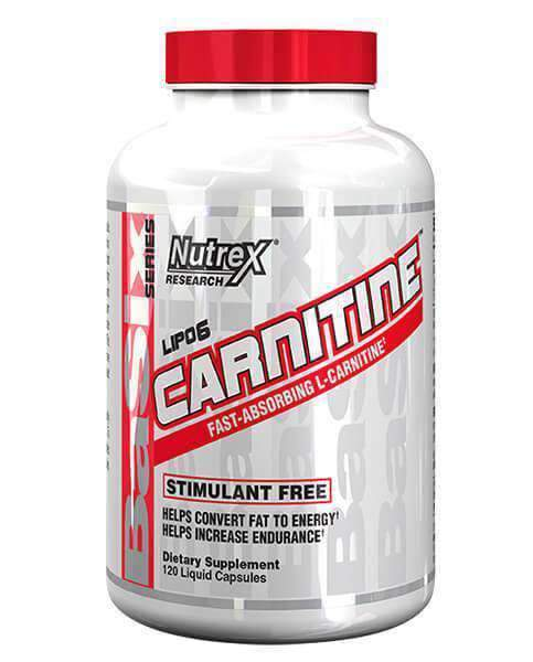 Buy NUTREX CARNITINE 60 Caps this sports supplement from Payless Supplements, today