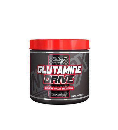 Buy NUTREX GLUTAMINE DRIVE BLACK 150g-30 serve this sports supplement from Payless Supplements, today