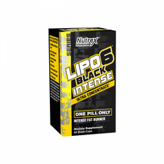 Buy Nutrex Lipo 6 Black Intense Ultra Concentrate this sports supplement from Payless Supplements, today