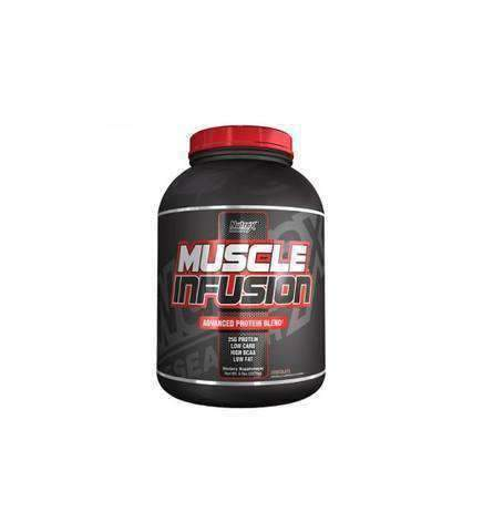 Nutrex Muscle Infusion 5Lb + Glutamine Drive