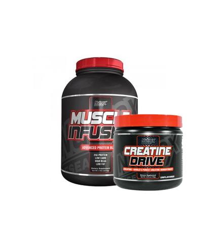 Buy Nutrex Muscle Infusion 5Lb + Creatine 150g this sports supplement from Payless Supplements, today