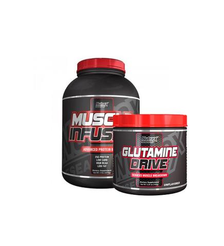 Nutrex Muscle Infusion 5Lb + Glutamine 150g
