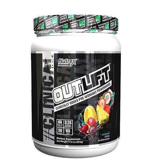 Buy NUTREX OUTLIFT PRE-WORKOUT 20 Serves this sports supplement from Payless Supplements, today