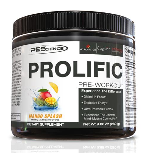 Buy PES Prolific 30 Serve this sports supplement from Payless Supplements, today