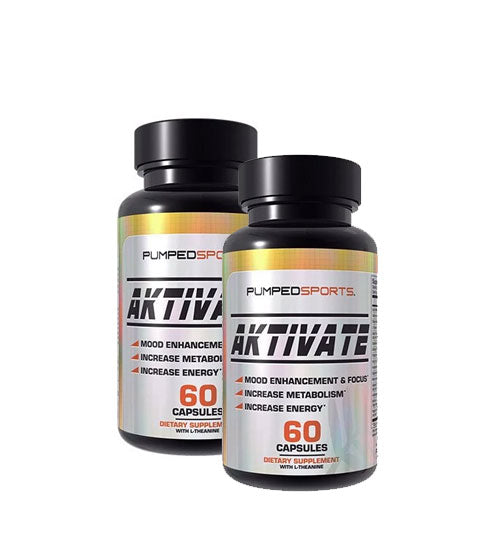 PUMPED SPORTS AKTIVATE 60 CAPSULES X2