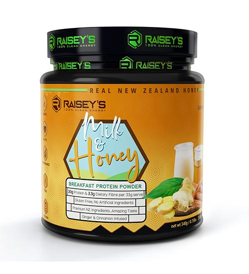 Raiseys Milk & Honey Breakfast Protein