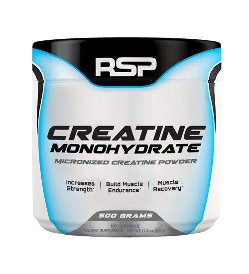 Buy RSP Creatine Mono 500g this sports supplement from Payless Supplements, today