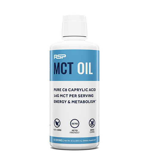 RSPNutrition MCT Oil Keto Friendly Unflavored
