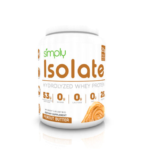 SIMPLY ISOLATE HYDROLYZED 2lb