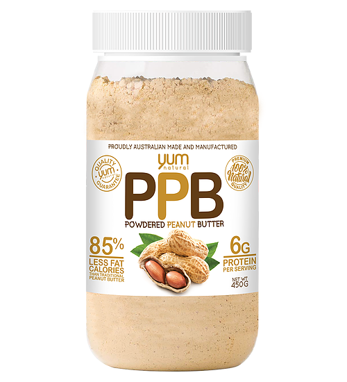 YUM NATURALS POWDERED PEANUT BUTTER