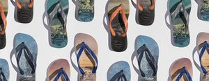 Leave a travel footprint and go places with Havaianas