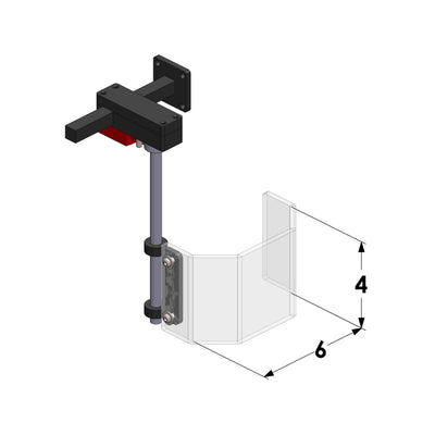 6x4 Drill Press Guard