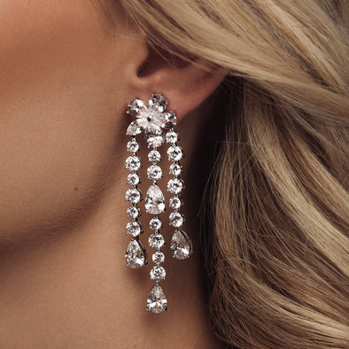 Talulah Earrings by The Luxe Bride