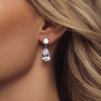 Kaia Bridal Earrings by The Luxe Bride