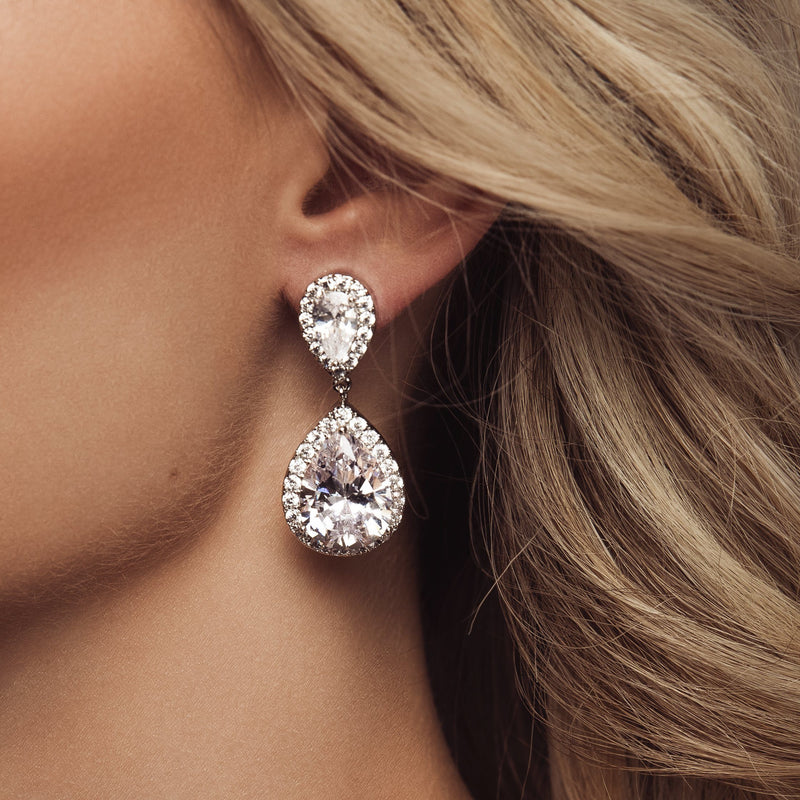 Georgia Bridal Earrings by The Luxe Bride