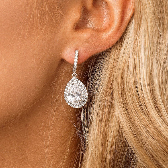 Bridal & Wedding Earrings - The Luxe Bride