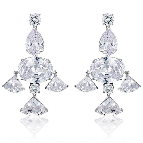 Bridal & Wedding Earrings by The Luxe Bride