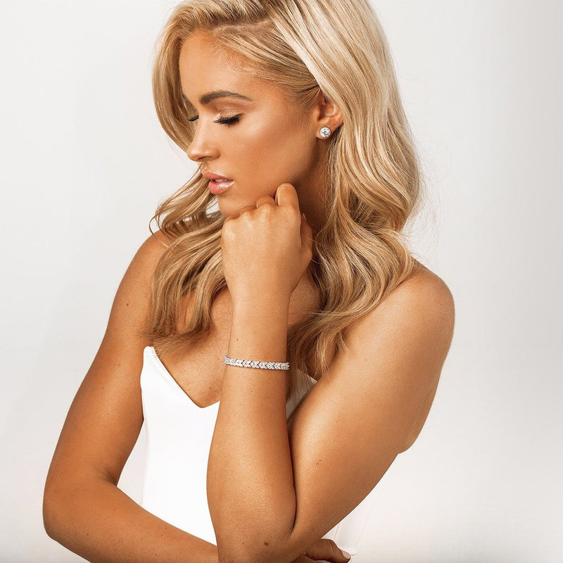 Crystal Bridal Bracelets & Wedding Jewellery