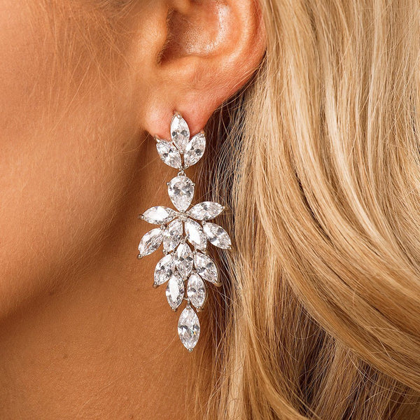 Bridal & Wedding Statement Earrings by The Luxe Bride