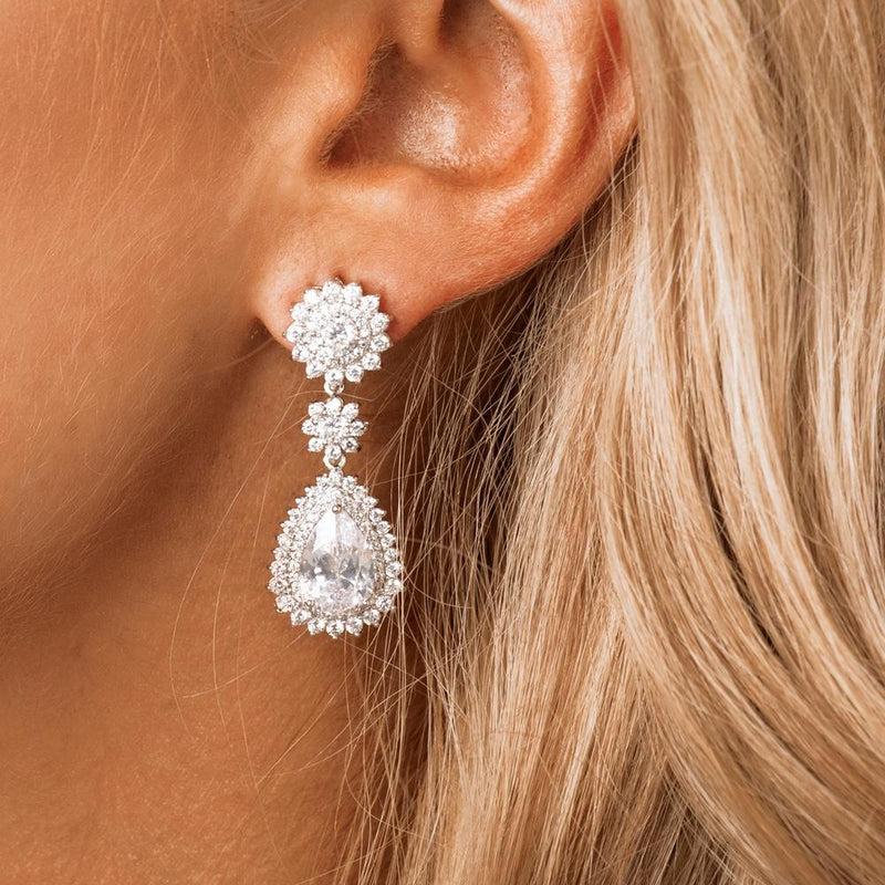 Statement Bridal & Wedding Earrings by The Luxe Bride
