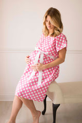 Darby Posh Pusher Labor & Delivery Gown