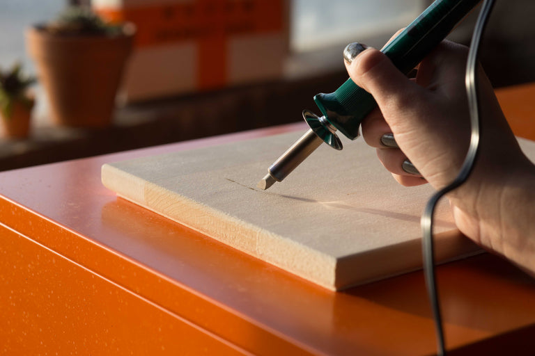 DIY pyrography Kit New Hobby Box How to Woodburning