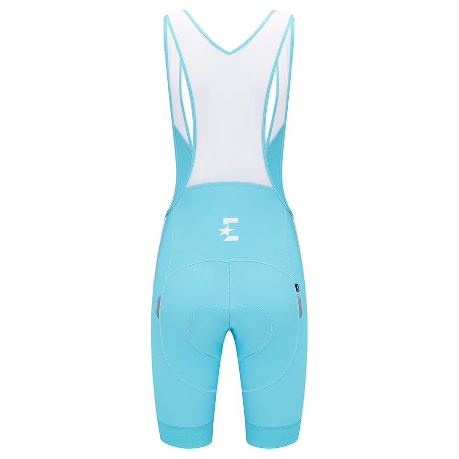 Eurosport GC Men's Cycling Bib Shorts (Turquoise)