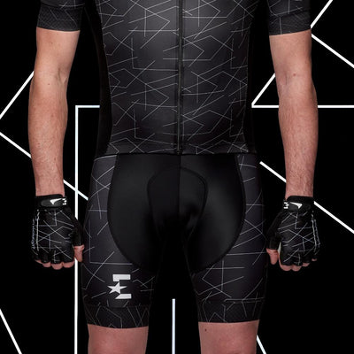 Eurosport GC Men's Cycling Bib Shorts (Line Pattern)