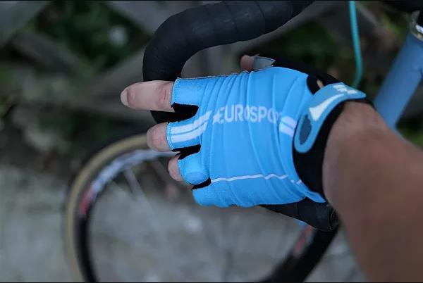 Eurosport GC Men's Cycling Mitts (Turquoise)