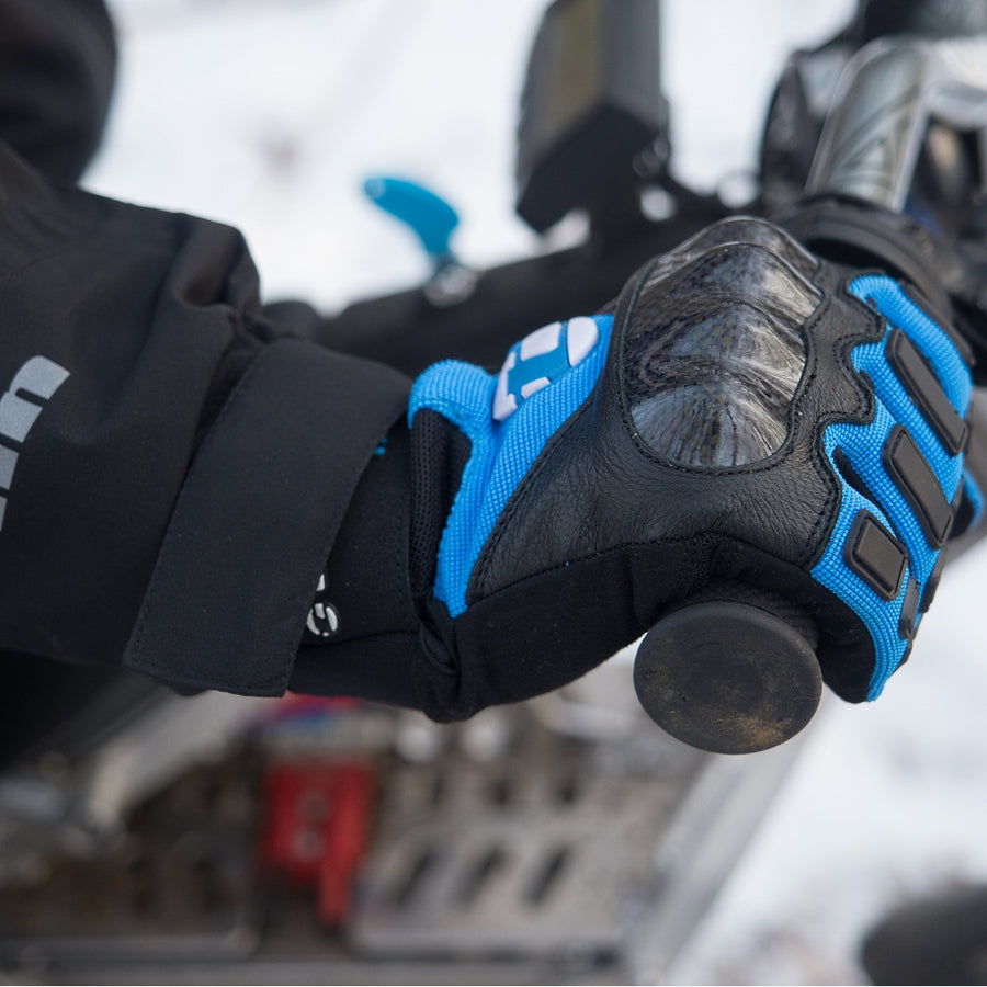 Tenn Leather & Carbon MTB Gloves