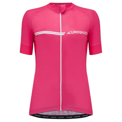 Eurosport GC Women's Cycling Jersey (Pink)
