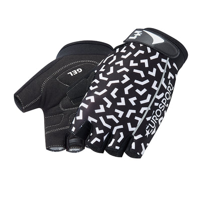 Eurosport GC Women's Cycling Mitts (Black Pattern)