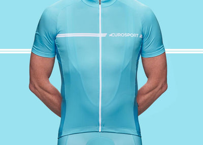 Eurosport GC Men's Cycling Jersey (Turquoise)
