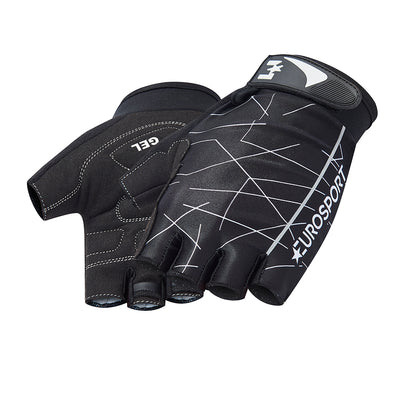 Eurosport GC Men's Cycle Cycling Mitts (Line Pattern)