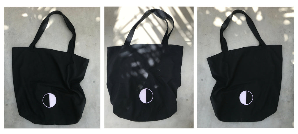 BLACK MOON Re-usable Tote Journey
