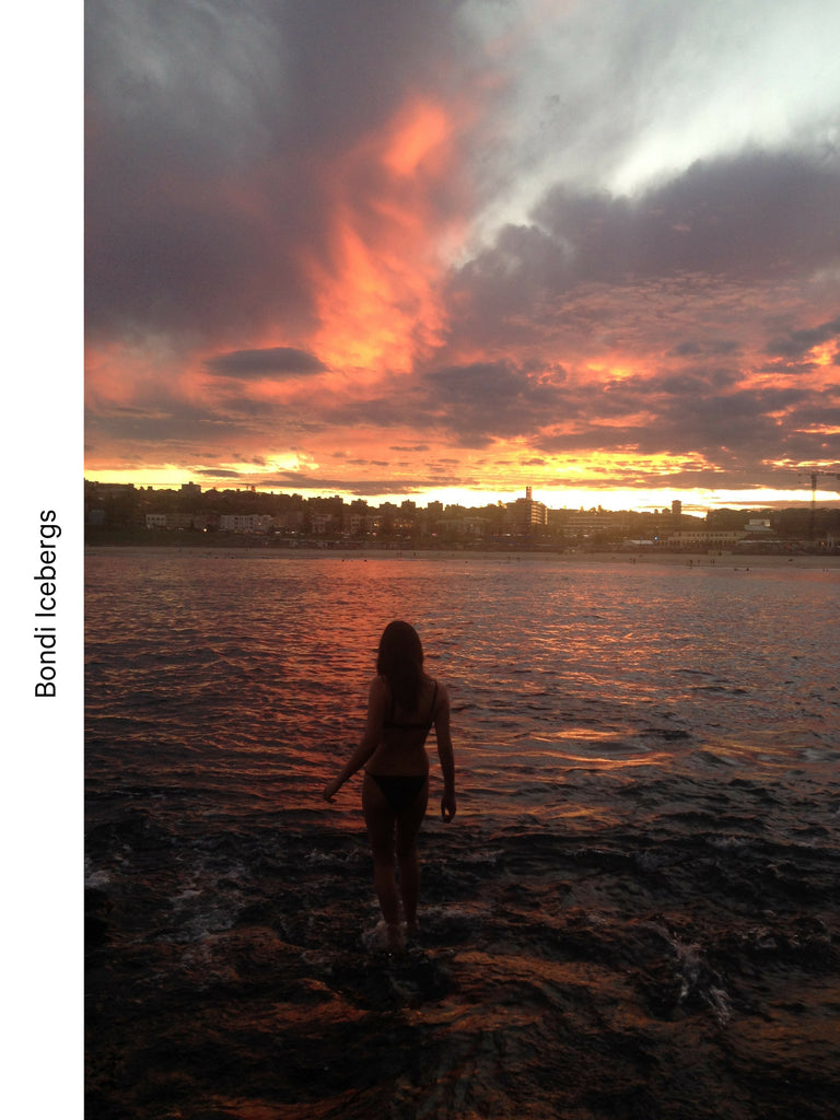Bondi Icebergs Sunset - BLACK MOON Travel guide with Celeste Tesoriero from @thecowboygeisha