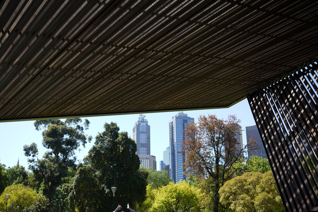 MPavilion cool spots in melbourne -  discover whats on with the black moon guide - queen victoria gardens