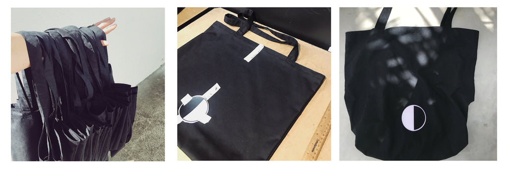 black moon ethical sustainable tote