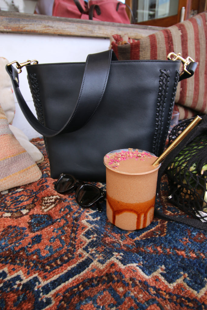 Orchard St Bondi Smoothie and Lucas Bucket Bag - BLACK MOON Travel guide with Celeste Tesoriero from @thecowboygeisha