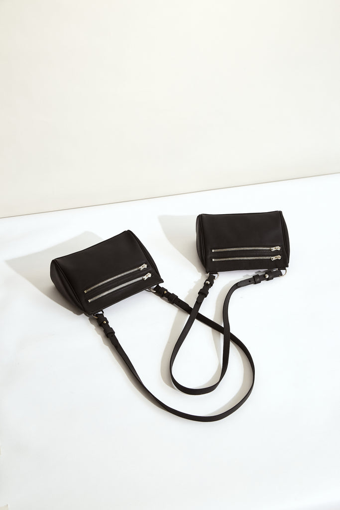 BLACK MOON Megan Mini Acrossbody - made in Australia with New Zealand Leather
