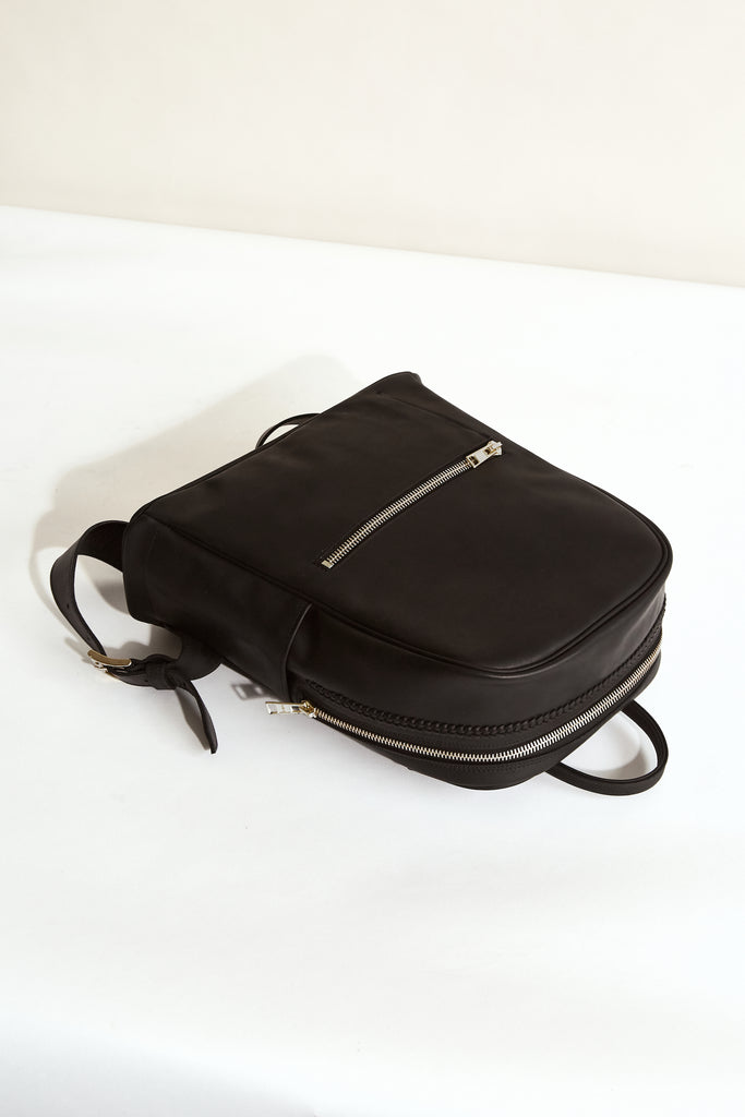 BLACK MOON Greta Backpack - Made in Australia with New Zealand Leather