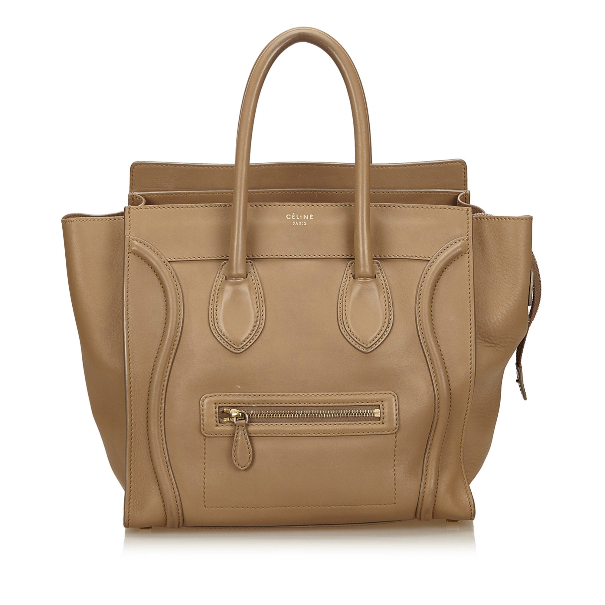 Celine Mini Luggage Tote - Olive Street