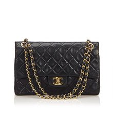 Chanel Classic Medium Leather Double Flap Bag
