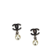 Chanel CC Pearl Drop Earring