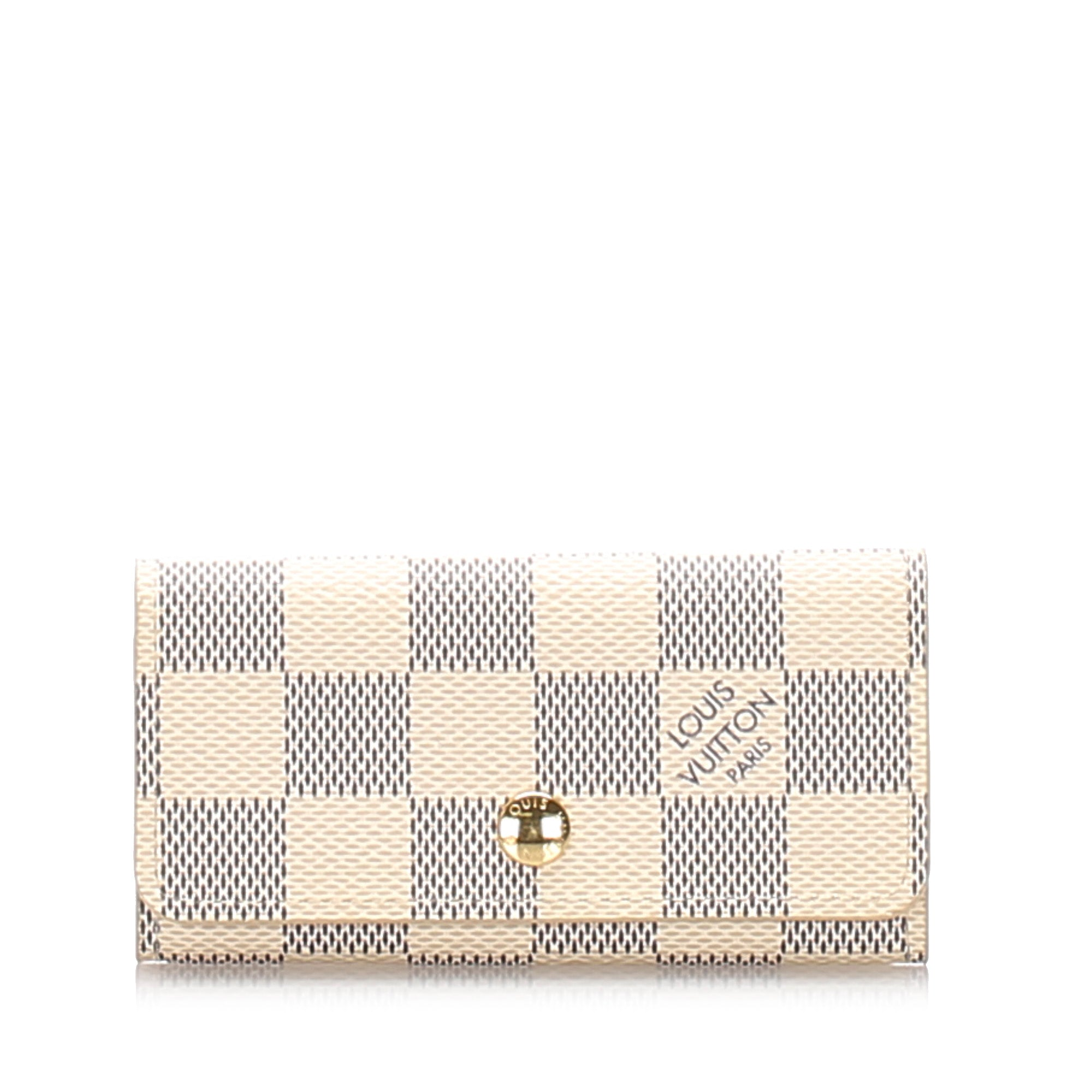 Louis Vuitton Damier Azur 4 Key Holder - Olive Street