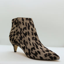 Pony Hair Kitten Heel Bootie