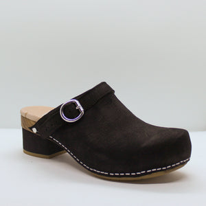 Leather Clog - Olive Street